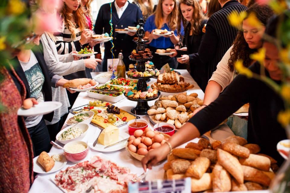 Uitgebreide lunch Amsterdam-West, ook voor partijen