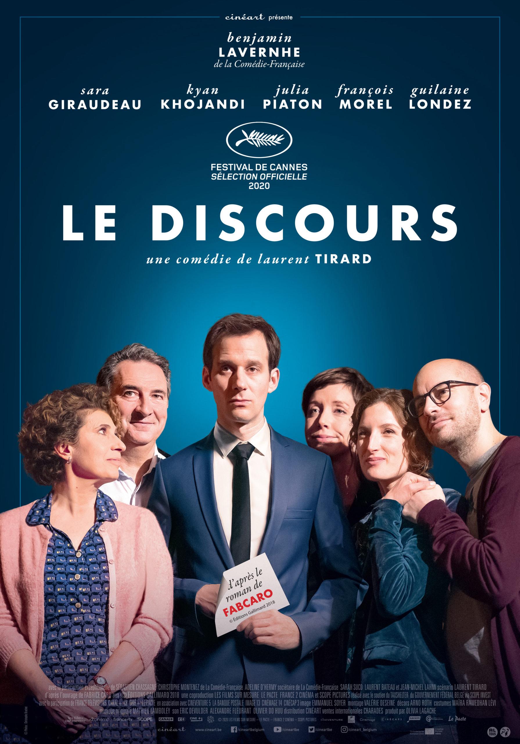 LeDiscours_Cineart_70x100.indd